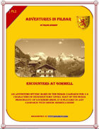 Cover of PL1 - Encounters at Gormell
