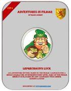 Cover of OP4 - Leprechaun's Luck