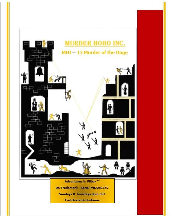 Cover of MHI - 13 Murder of the Doge