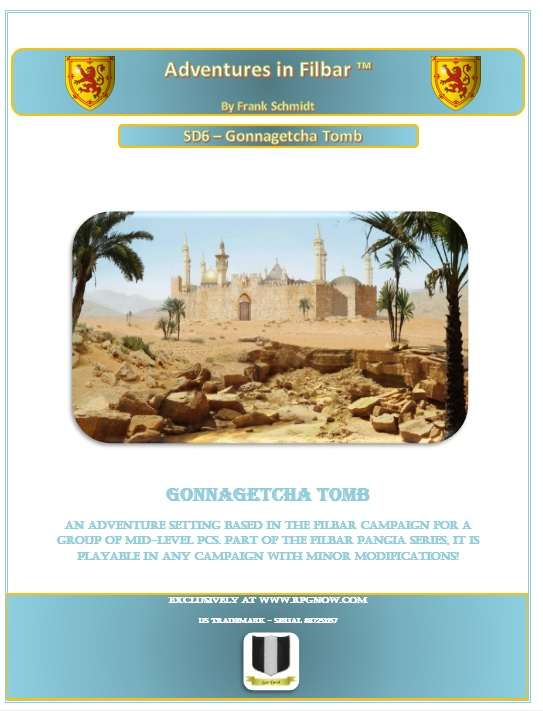 Cover of SD6 - Gonnagetcha Tomb