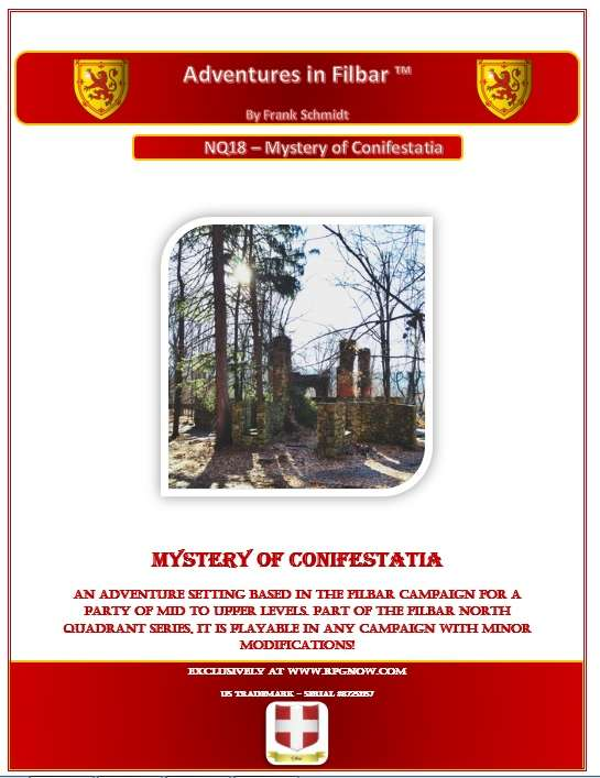 Cover of NQ18 - Mystery of Conifestatia