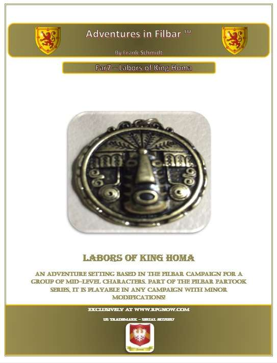 Cover of Far7 - Labors of King Homa