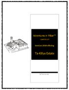 Cover of GC18 - Ta-Killya Estate