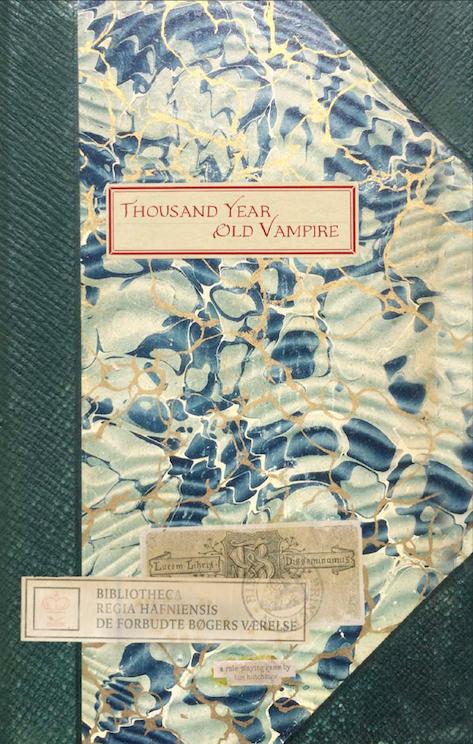 1000 Anni da Vampiro, cover dell'edizione inglese