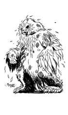 OE Stock Art - Undead Owlbear (Zombie)
