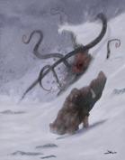 OE Stock Art - Snowstorm Surprise - Monster