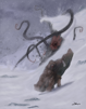OE Stock Art - Snowstorm Surprise - Monster