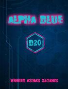 Alpha Blue D20