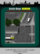 Battle Maps MODERN:  Parking Lot & City Streets