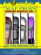 Map Props:  Modern Vehicles Volume I
