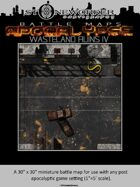 Battle Maps APOCALYPSE:  Wasteland Ruins IV