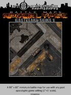 Battle Maps APOCALYPSE: Wasteland Ruins V