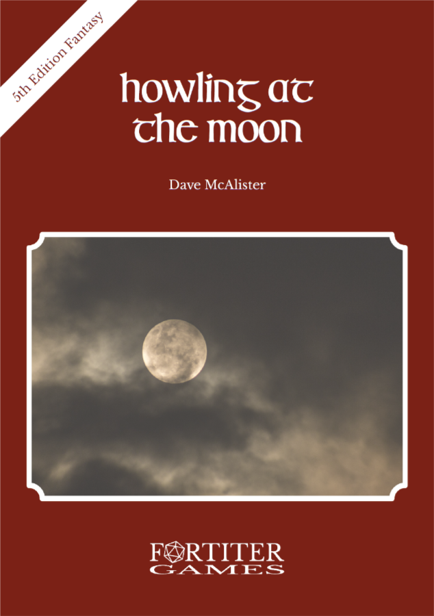 Cover of Howling at the Moon