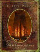 The D'ni Primer: An Unwritten Supplement
