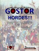 Gostor: Hordes!!!