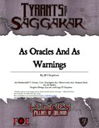 Legacies: ToS2-55 - As Oracles and as warnings