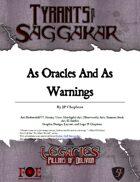 Legacies: ToS2-55 - As Oracles and as warnings