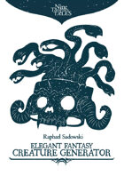 Elegant Fantasy Creature Generator