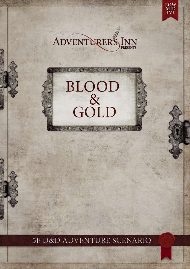 Cover of Blood & Gold