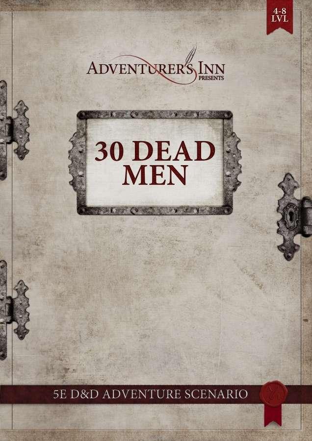 Cover of 30 Dead Men