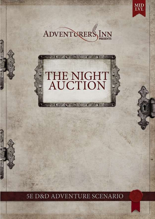 Cover of The Night Auction