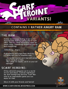 Scarf Heroine - The Ram variant
