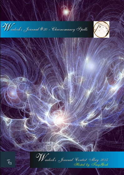 Warlocks Journal #20 - Chronomancy spells - Tiny Gork | Warlocks