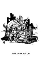 Dinosaur vs Tank