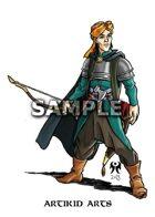 Middle-eastern half-elf ranger