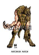 Mangy Werewolf