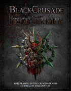 Black Crusade: Binding Contracts