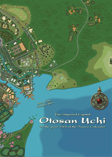 Legend of the Five Rings: Atlas of Rokugan Digital Map Pack