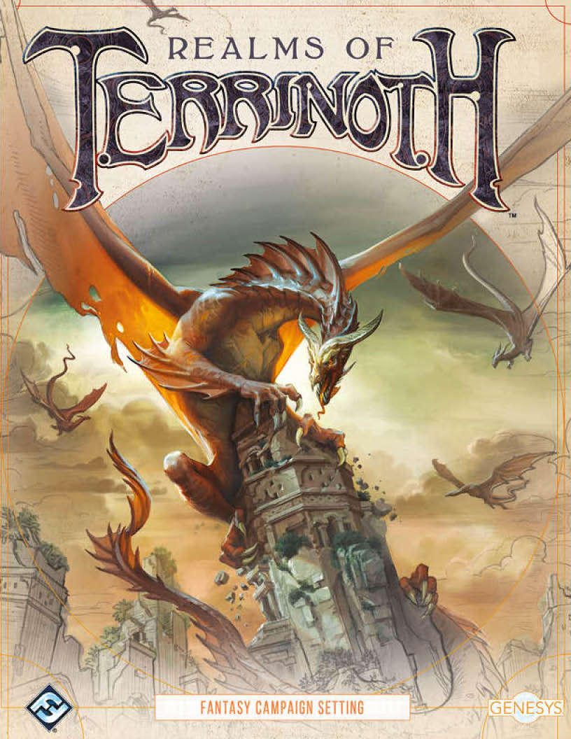 Realms of Terrinoth - Fantasy Flight Games | Genesys | DriveThruRPG com