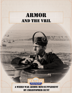Armor and the Vril: A Weird War Armor Mini-Supplement