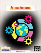 Setting Notebook