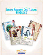 Genesys Adversary Templates [BUNDLE]