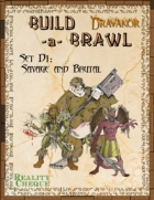 Build-a-Brawl Set D1: Savage and Brutal