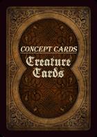 Concept Cards - Creatures