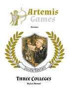 Three Non-Magical Colleges - Jigsaw Fantasy (Location - Culture - Characters)