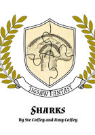 Sharks! - Jigsaw Fantasy Noggin (Sea - Monsters)