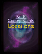 Sci-Fi Locations - Concept Cards