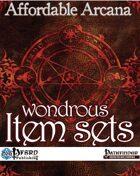 Affordable Arcana - Wondrous Item Sets (PFRPG)