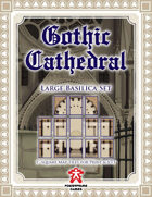 Gothic Cathedral: Large Basilica Set
