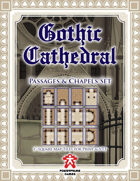 Gothic Cathedral: Passages & Chapels Set
