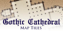 Gothic Cathedral Map Tiles