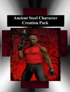 Ancient Steel Horror Character Template Pack