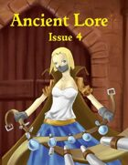 Ancient Lore  Issue 4 (supplement for Ancient steel)