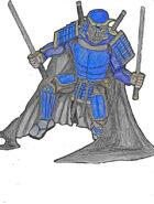 Clip art Creation: Fantasy Samurai