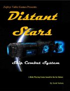 Distant Stars - Space Combat System