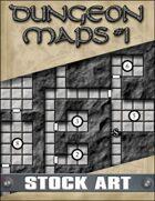 STOCK ART: Dungeon Maps #1